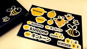 kintoneのノベルティシール