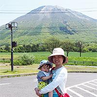 写真:「働くって楽しい!」という充実感に満たされた 飯居さん(岡山県)